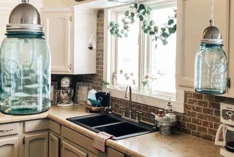 cleaning routines in the kitchen