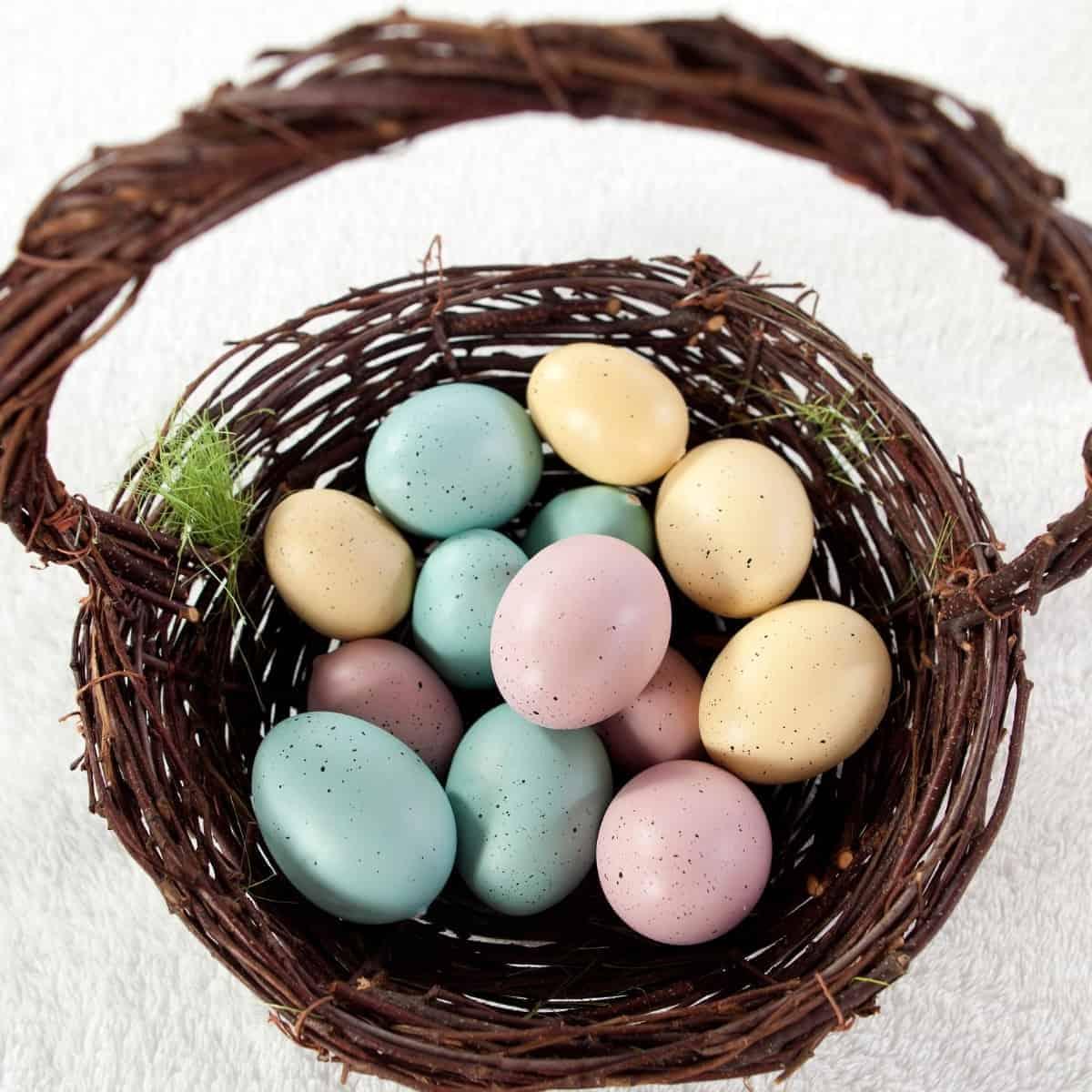 Natural Easter Basket Ideas