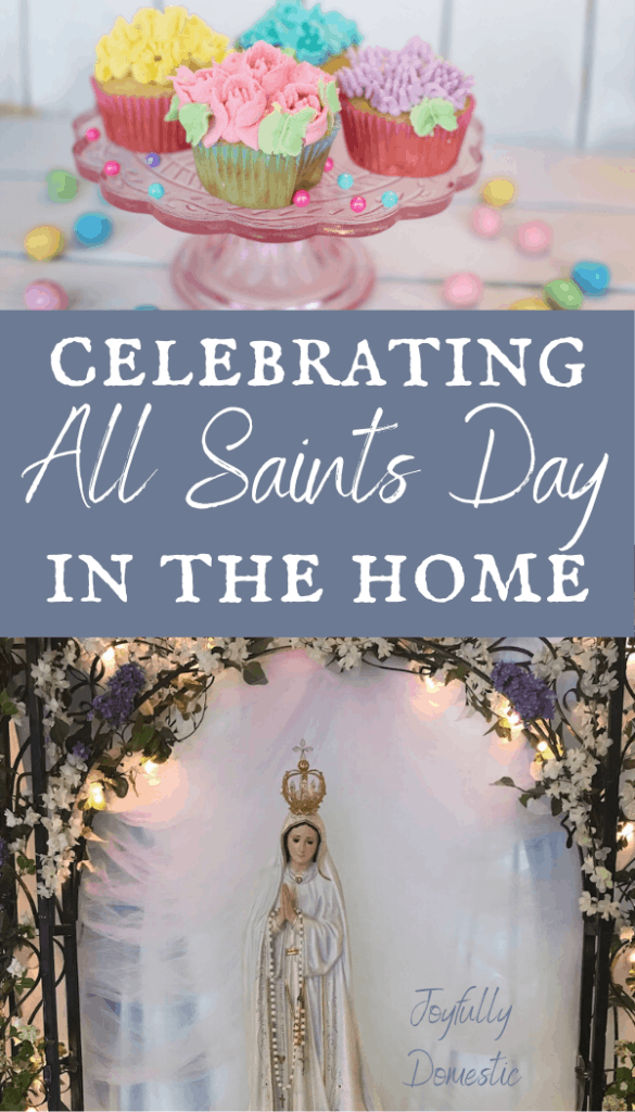 all saints day in the catholic home