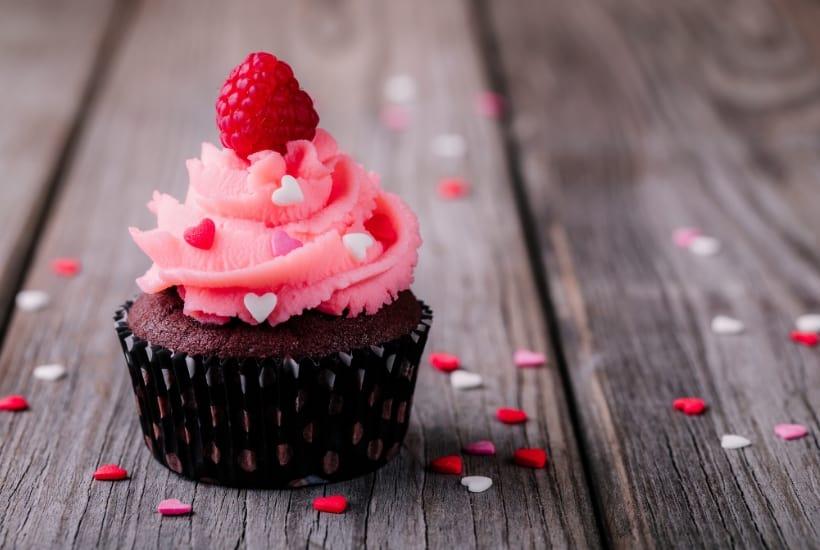 st valentines day cupcake