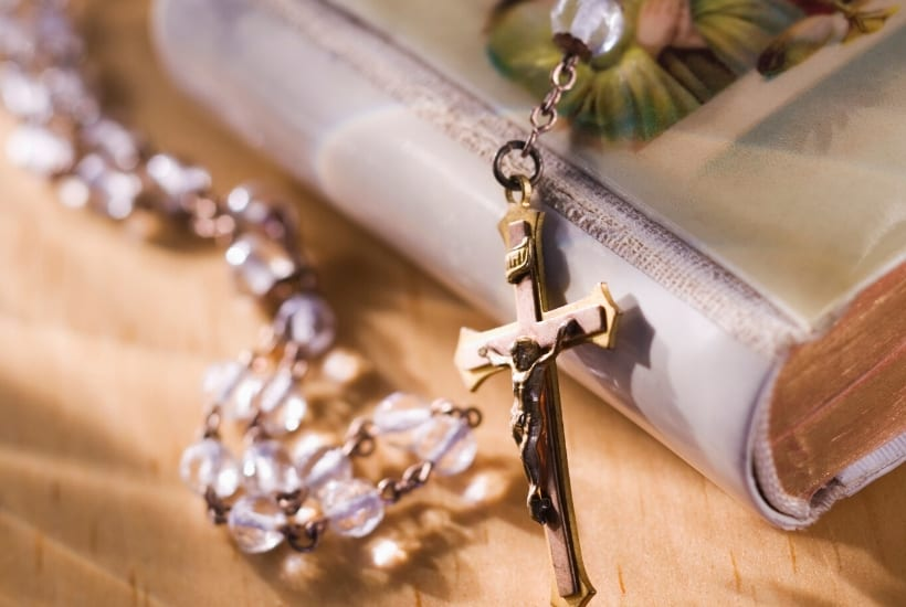 rosary and missal
