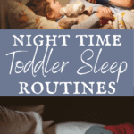 nighttime toddler sleep routine with story time