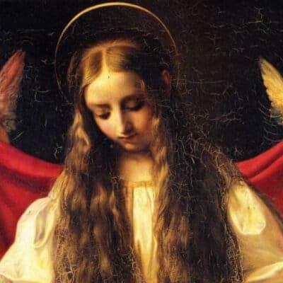 painting of St Philomena