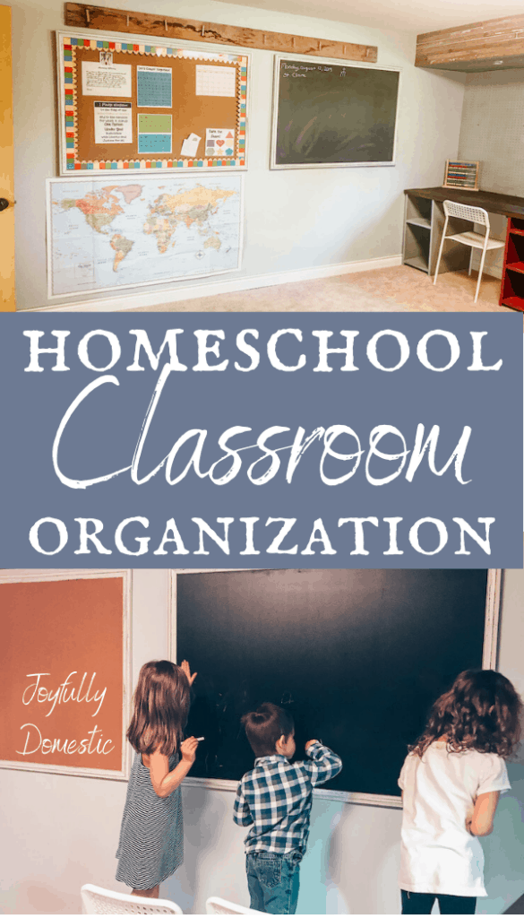 homeschool classroom organization