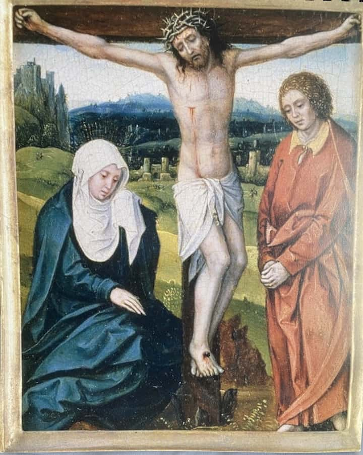 image of the crucifixion mediation for preparation for lent