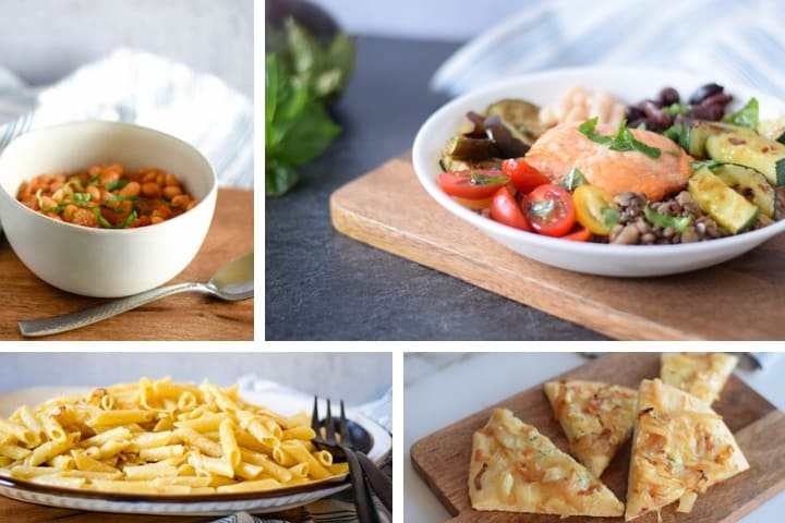 soup, pasta, and pizza roundup images