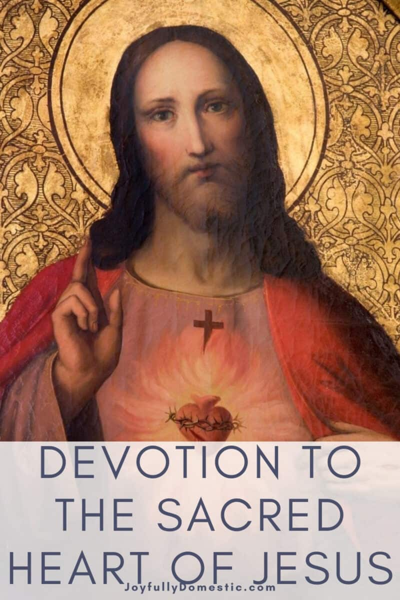 icon image of the Sacred Heart of Jesus