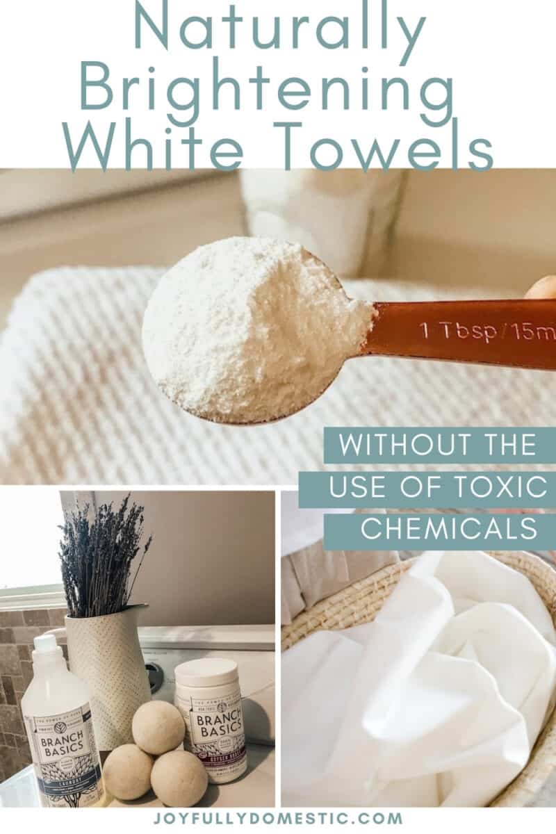 collage of images of white laundry