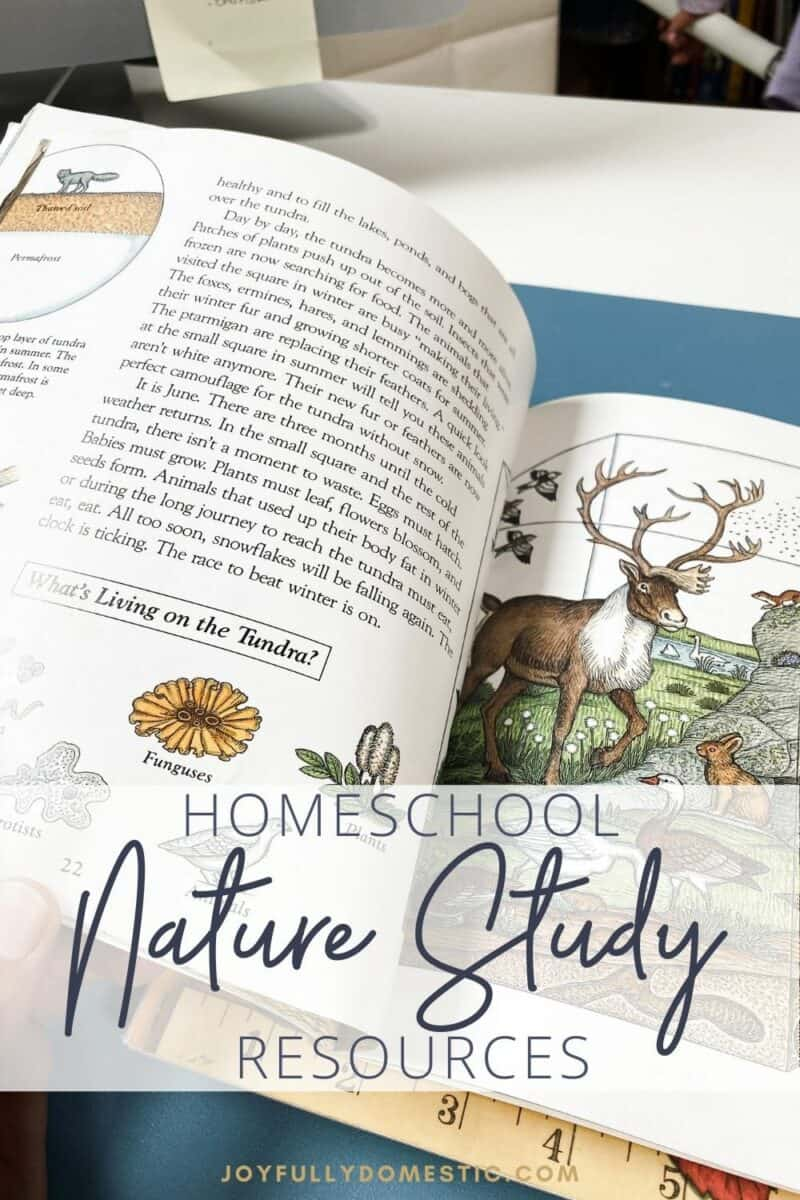 nature study book with images